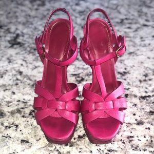 Saint Laurent Tribute Hot Pink
